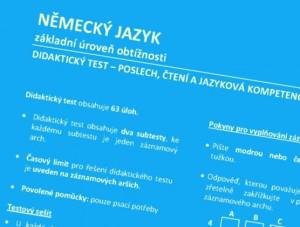 Didaktický test u maturity z němčiny, jak ně něj?