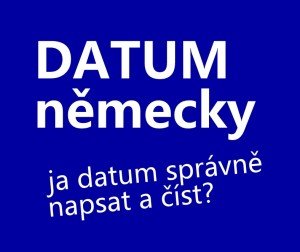 datum-nemecky